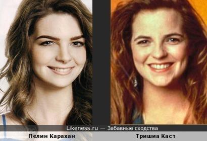 Столько похожих актрис....