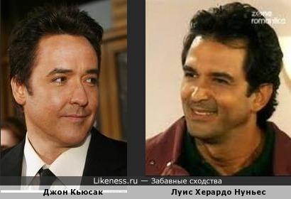 Американский актёр похож на венесуэльского. сильно-сильно.