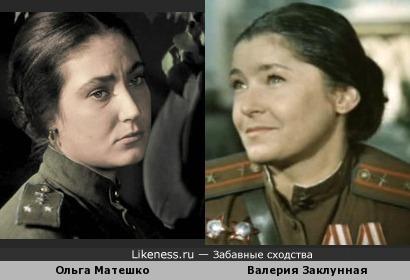Вот это меня глюкануло! Похожие актрисы играли военных летчиц, я приняла одну за другую.