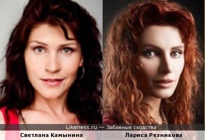 Лариса Резникова напомнила Светлану Камынину.