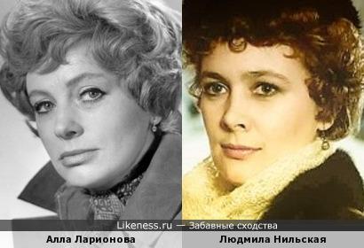 В одном из фильмов я смотрела на актрису и не могла сообразить, кто из них?