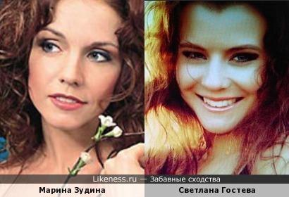 Чтоб увидеть сходство чётко, нужно смотреть видео Гостевой.