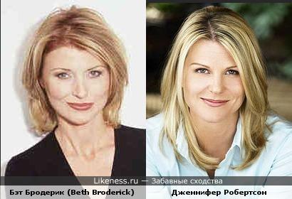 Две колдуньи. Бэт Бродерик (Beth Broderick) и Дженнифер Робертсон (Jennifer Robertson)