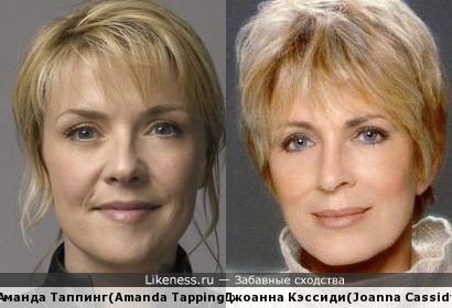 Аманда Таппинг (Amanda Tapping) и Джоанна Кэссиди (Joanna Cassidy)