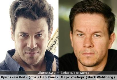 Кристиан Кейн (Christian Kane) и Марк Уолберг (Mark Wahlberg)