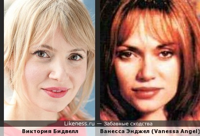 Виктория Бидвелл (Victoria Bidewell) и Ванесса Энджел (Vanessa Angel)
