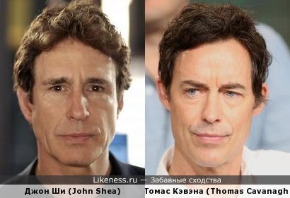 Джон Ши (John Shea) и Томас Кэвэна (Thomas Cavanagh)