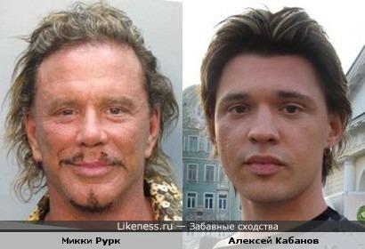 Микки Рурк пластикой лица хотел превратиться в Алексея Кабанова