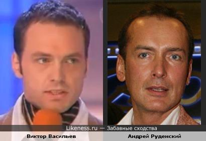 Виктор Васильев, Андрей Руденский, актеры, квн
