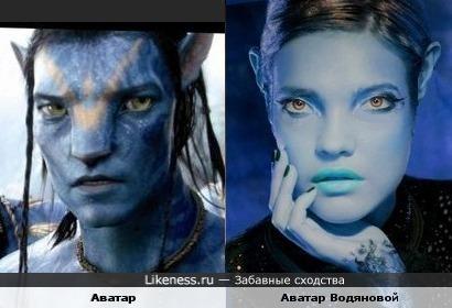 Аватар Наталья Водянова
