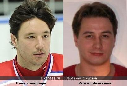 Илья Ковальчук и Кирилл Иванченко