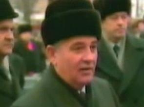 Горбачев в шапке