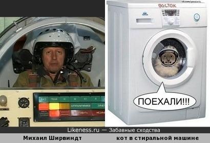 Михаил Ширвиндт в авиационной катпульте похож на кота в стиральной машине