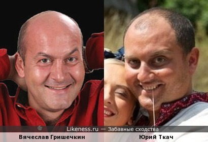 Вячеслав Гришечкин и Юрий Ткач похожи