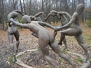 скульптура Танец по картине Анри Матисса