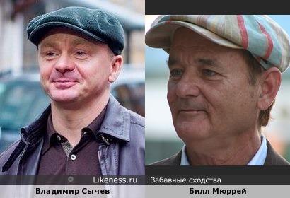 Владимир Сычев похож на Билла Мюррея
