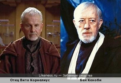 Отец Вито Корнелиус из Пятого элемента напомнил Бена Кеноби из Звездных войн