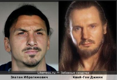 Ибрагимович чем-то напомнил Квай-Гона из звездных войн