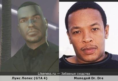 Луис Лопес похож на Dr. Dre
