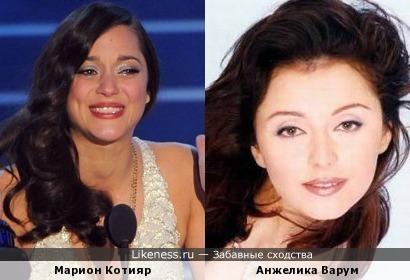 Марион Котияр и Анжелика Варум