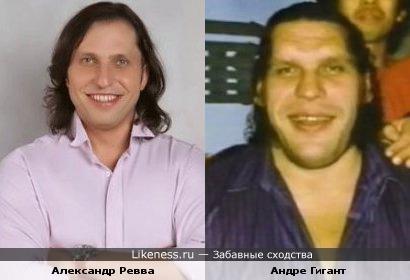 Александр Ревва похож на Андре Гиганта