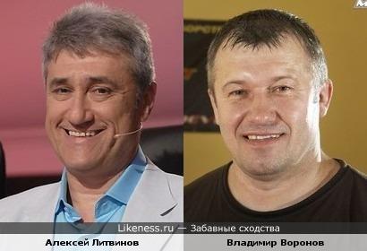 Алексей Литвинов напомнил Владимира Воронова