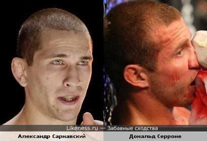 Александр Сарнавский и Дональд Серроне
