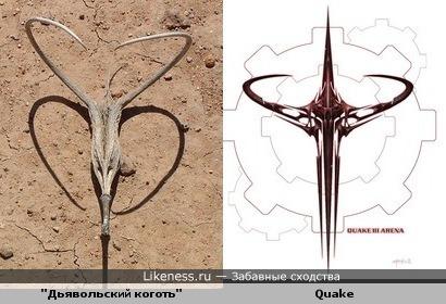 """""""Дьявольский коготь"""" и Quake III: Arena"""