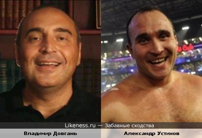 Владимир Довгань и Александр Устинов