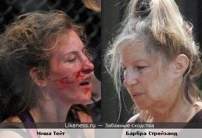 Миша Тейт и Барбра Стрейзанд