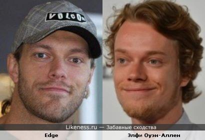 Edge и Элфи Оуэн-Аллен