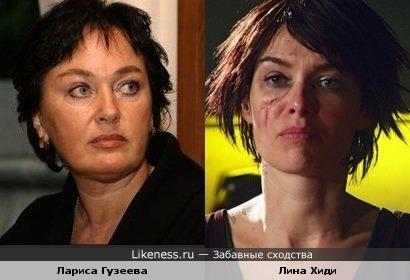 Лариса Гузеева и Лина Хиди
