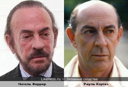Мигель Феррер и Рауль Кортез