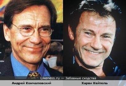 Андрей Кончаловский и Харви Кейтель