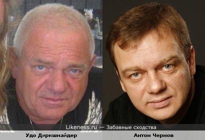 Удо Диркшнайдер и Антон Чернов
