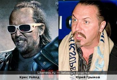 Крис Уайлд и Юрий Грымов