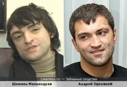 Шамиль Малкандуев и Андрей Орловкий