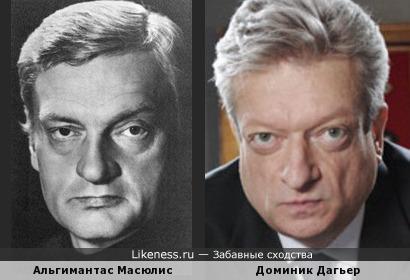 Альгимантас Масюлис и Доминик Дагьер - 2