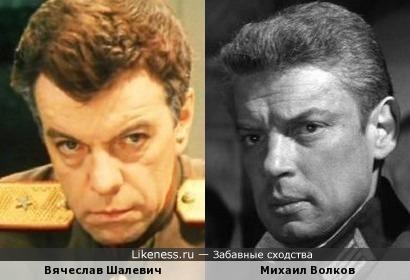 Михаил Волков и Вячеслав Шалевич