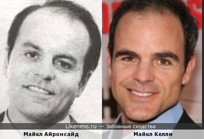 Майкл Айронсайд и Майкл Келли