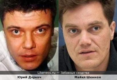 Юрий Деркач и Майкл Шеннон