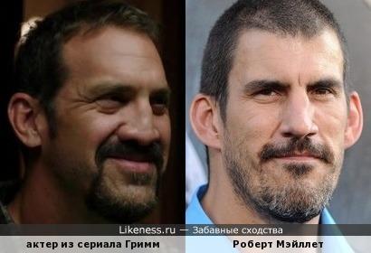 Актер из сериала Гримм и Роберт Мэйллет