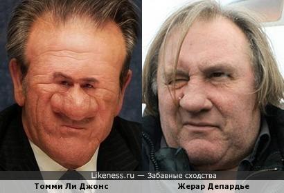 Томми Ли Джонс и Жерар Депардье