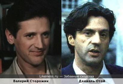 Валерий Сторожик и Даниель Отой