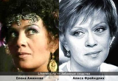 Елена Аминова и Елена Аминова
