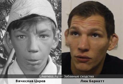 Вячеслав Царев и Люк Барнатт