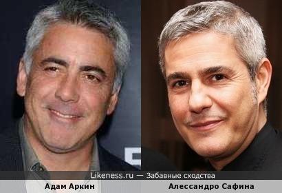 Алессандро Сафина и Адам Аркин
