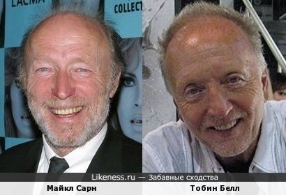 Майкл Сарн и Тобин Белл