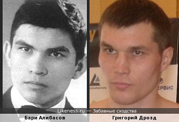 Бари Алибасов и Григорий Дрозд