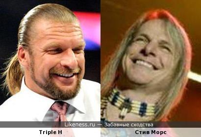 Triple H и Стив Морс